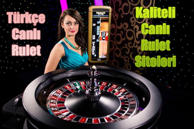 türkçe canlı rulet, internetten canlı rulet, canlı rulet sitesi