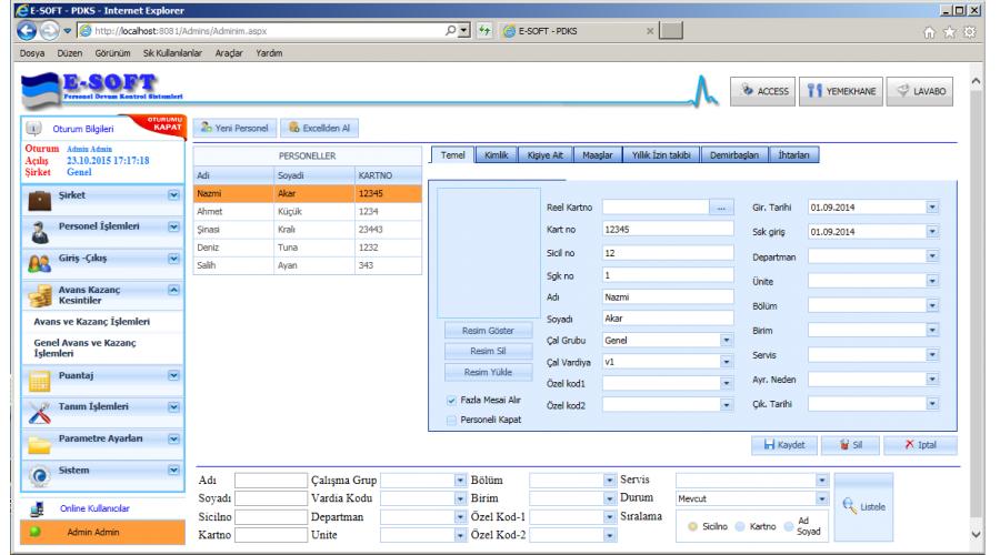 pdks nedir, pdks ne işe yarar, pdks hangi işletmelerde kullanılır